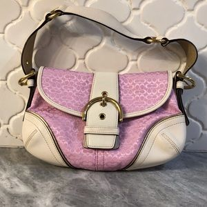Coach Mini Signature Soho Flap Bag